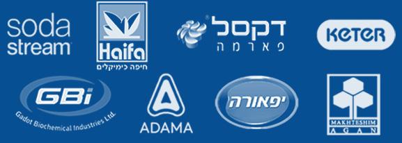 לוגואים של חברות מובילות בתחום גרסת נייד